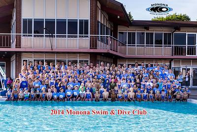 Monona Swim & Dive - Swim Team - June 14, 2014