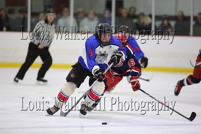Hockey Playoffs Game 1 RMR at Portsmouth on 3/18/16