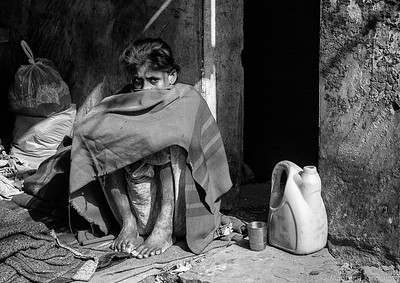 Delhi People & Streetlife B&W