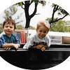 Ian & Devin at Papa's