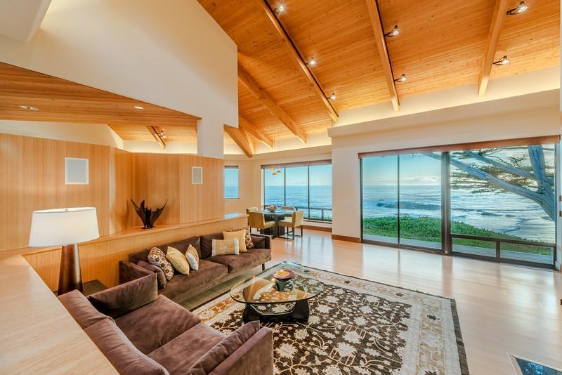 Living Room Before Sunset