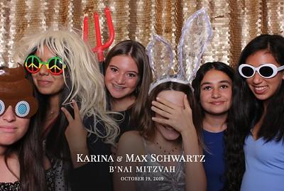 Karina & Max Schwartz B'nai Mitzvah