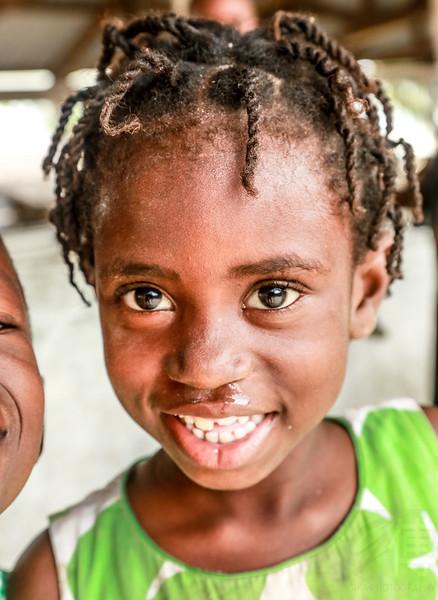 Girl at Ilha de Mozambique - Mozambique