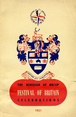Bacup Festival Of Britain Celebrations, 1951