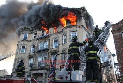 Lynn, MA - 5th Alarm, 22 West Baltimore Street, 1-1-17