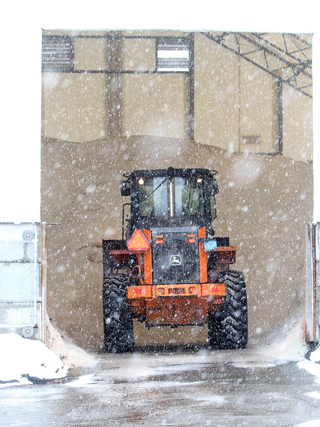 Dracut DPW snow preparation