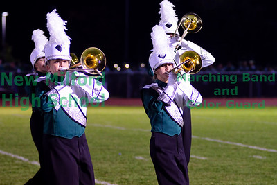 New Milford High School Marching Band Home Show, October 9, 2010