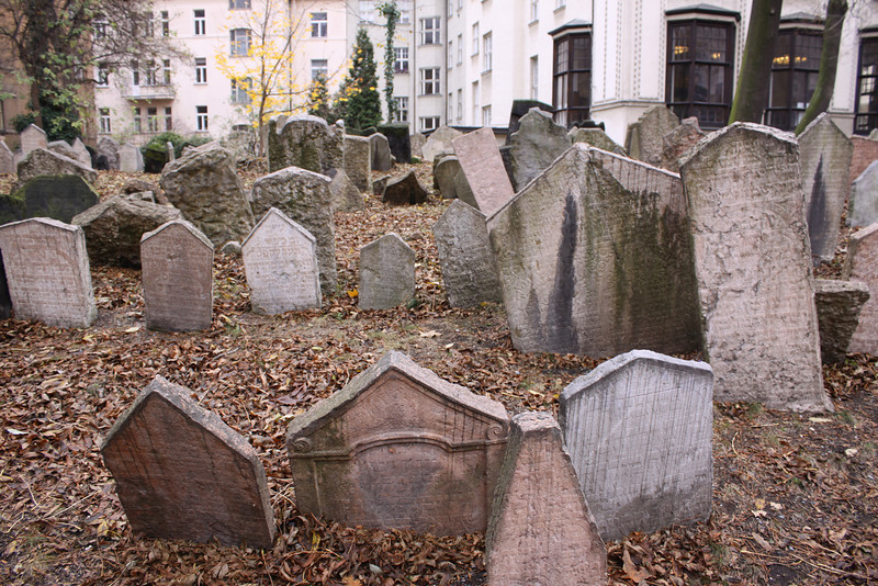 Old Jewish Cemetary  (from 15th century)