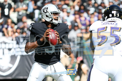 NFL 2017: Ravens vs Raiders OCT 08