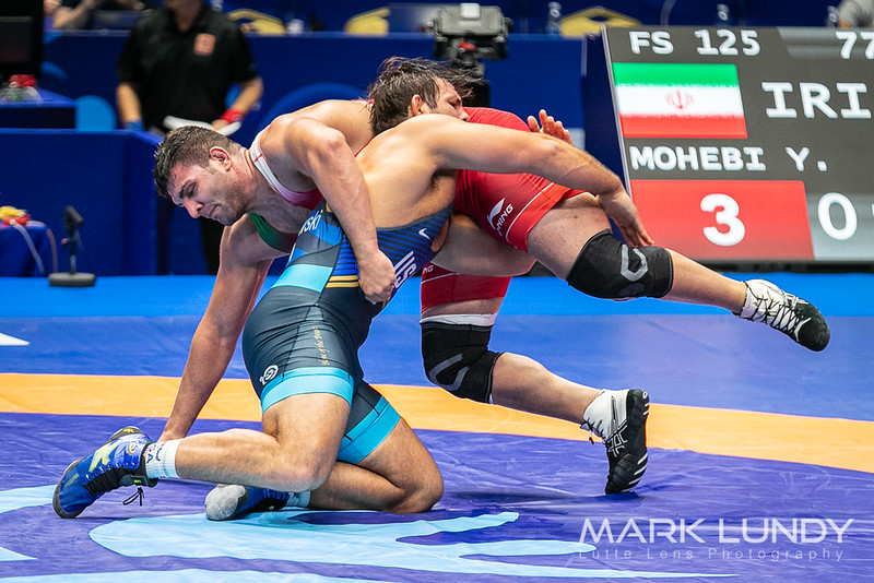 Champ. Round 2: Yadollah Mohammadkaz Mohebi (Iran) over Nicholas Edward Gwiazdowski (United States)  •  Dec 5-2 - 2019 World Championships