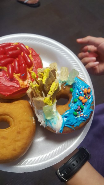 Teen Donut Decorating - July 2019
