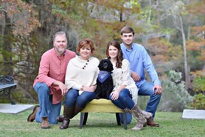 Missy Johnson and family