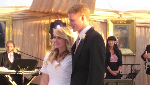 Alex & Angela's wedding: Reception at Santa Barbara - Sorensen home