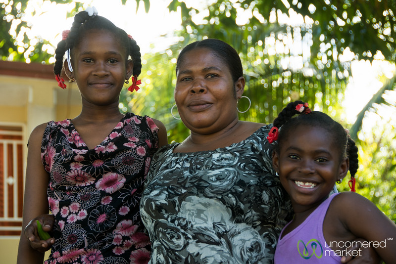 Lélène and her Daughters - Petit-Goave, Haiti