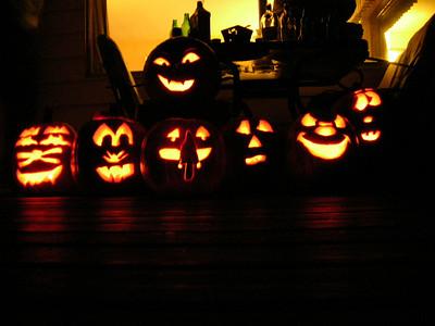 Pumpkin Carving Party 2006