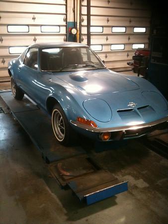 Brand new 1973 Opal GT