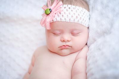 Baby Nya Newborn Pics
