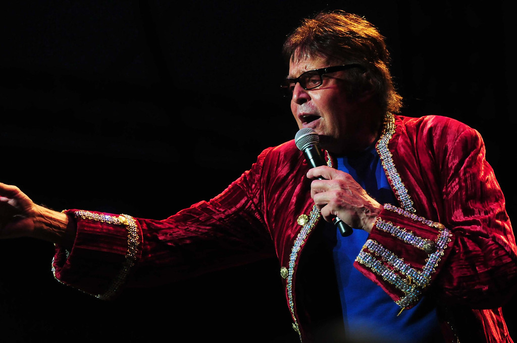 . Mark Lindsay, formerly the lead singer of Paul Revere & the Raiders, performs at the Happy Together concert. The group was the first rock \'n\' roll band signed by Columbia Records. (Pioneer Press: Scott Takushi)