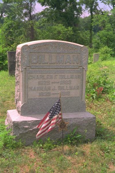 Chas Billman Grave-1