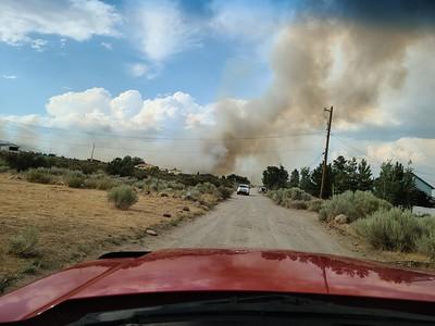 Rock Farm rd. Fire