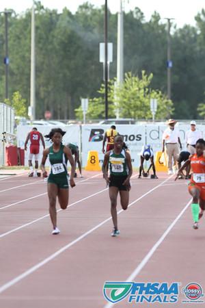 Class 3A - Running Event Finals - Girls 100m Dash