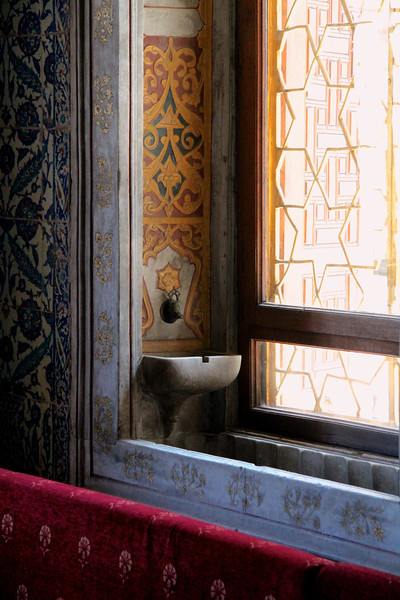Inside one of the palace rooms - Topkapi Palace