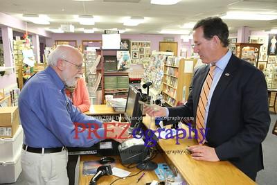 Rick Santorum Divine Booksigning 4-8-15