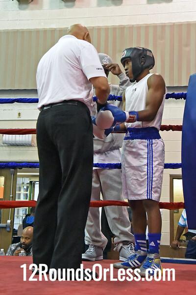 Bout 6 - Delante Johnson, MLK Gym  vs  Jibreal Hawkins, unattached