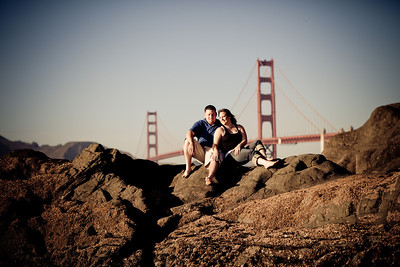 2010-09-26 Engagement Photos: Baker Beach