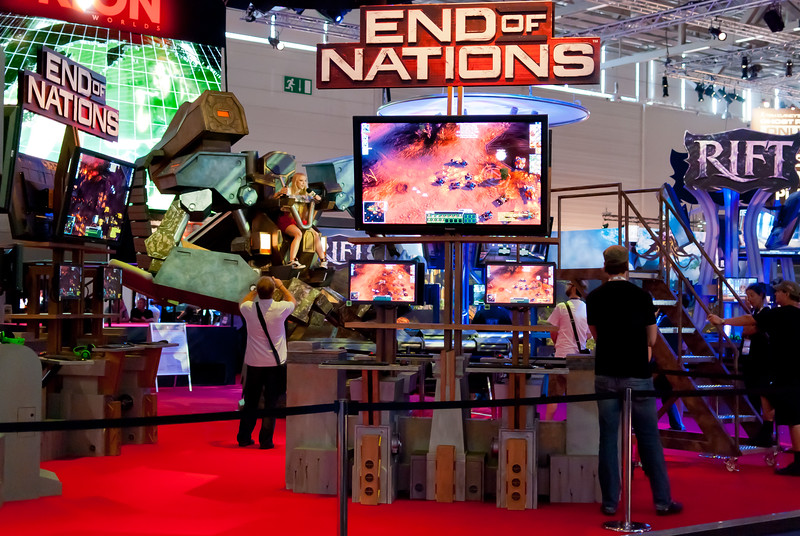 End of Nations at GamesCom 2011