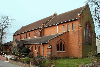 All Saints, Church of England, Lime Walk, Highfield, Headington, Oxford, OX3 7AX