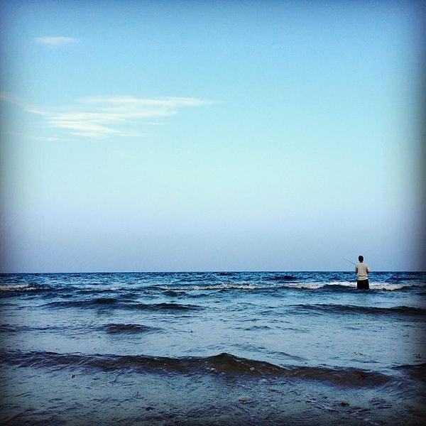 #beach  #fishing
