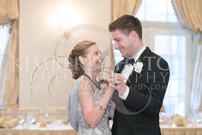 Reception Mother Son Dance- Annie Siemianowski Mike Asselin Wedding Photos- Sacred Heart Church Springfield, MA/ Hotel Northampton MA