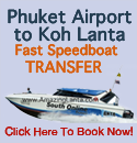 Phuket Airport to Koh Lanta express transfer