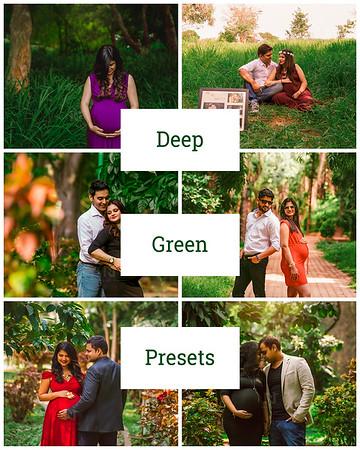 Deep Woods Green Tones