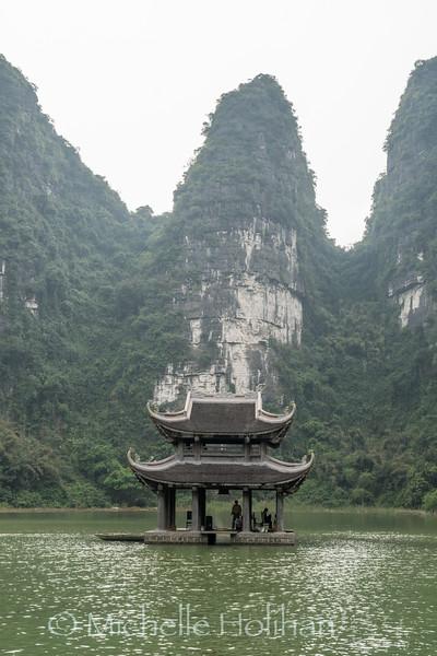 Trang An World Heritage Site, Ninh Binh, Vietnam