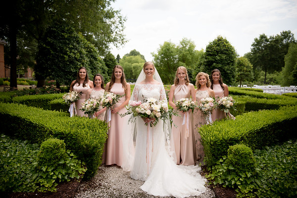 Bridesmaids and Bridal Portraits