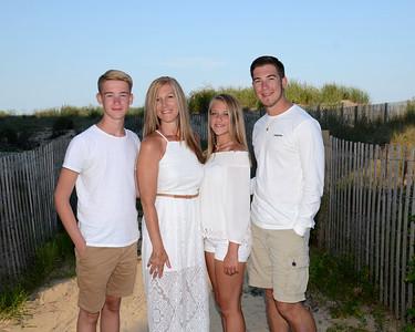 Taylor Family Beach Portraits Aug. 1, 2017