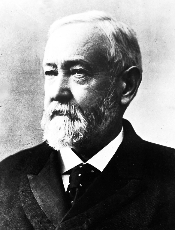 . Undated file shot of Benjamin Harrison, 23rd President of the United States, 1889 -1893. (AP Photo)