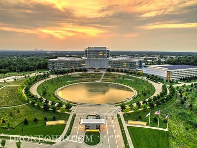 Eaton Corporation Headquarters Sunset