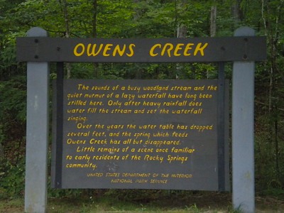 Mississippi: Owens Creek Falls