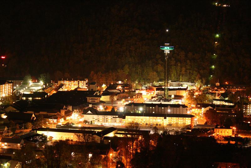Gatlinburg at Night