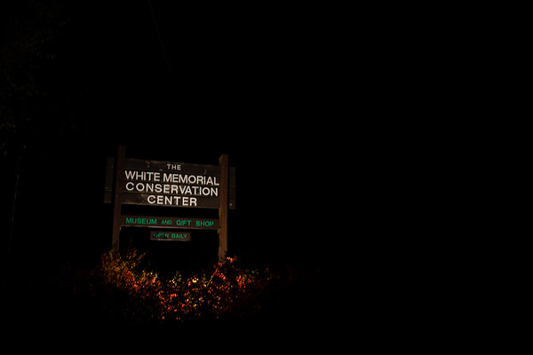 White Memorial Conservation Center AT NIGHT!