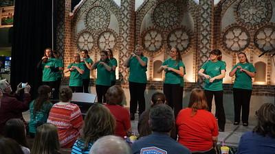 Joyful Hands at Southern Christmas show