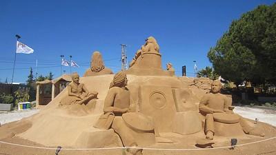 International Sand Sculpture Festival  [ Festival Internacional de Escultura em Areia ], Pêra, Algarve : Vivienne