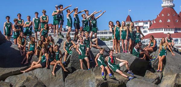 2014 Islander Cross Country Team Shots