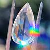 3.33ct Pear Shaped Rose Cut Diamond 0