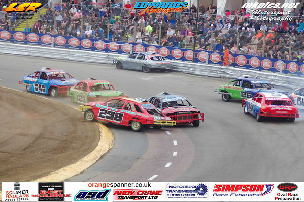 National Saloon Stockcars, Ipswich Spedeweekend