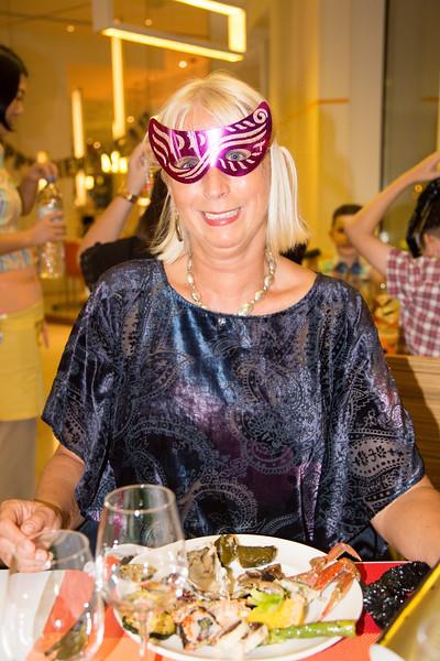 New Year 2016 celebration, Gala Dinner at Novotel Hotel, Dubai - 2016