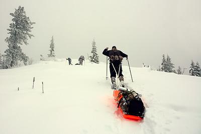 Snowshoe Camping Jan 2016